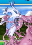 blush ditto fellarts lugia nintendo pokemon pussy saliva tentacles tongue