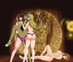 4girls alexis_rhodes cum ishizu_ishtar konami nipples nude serenity_wheeler sex_toy tea_gardner vaginal_penetration yu-gi-oh! yu-gi-oh!_gx yuri yuu-gi-ou_duel_monsters