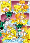 """cassia_the_pronghorn miles_""""tails""""_prower mobius_unleashed palcomix sonic's_guide_to_spanking tagme zooey_the_fox"""