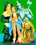 cowardly_lion dash_riprock dorothy_gale scarecrow the_wizard_of_oz tin_man wizard_of_oz