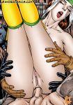 batman bruce_wayne crossover dc leandro_comics marvel rogue x-men