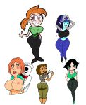 adventure_time ass big_ass big_breasts breasts brian_griffin buttercup courtney family_guy jay-marvel lips lois_griffin marceline pants powerpuff_girls the_fairly_oddparents total_drama_island vicky wide_hips