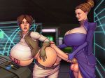 big_breasts boobsgames doggy_position futanari futanari_on_female futanari_with_female incest milf padme_amidala princess_leia_organa
