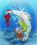 anus ass fart masturbation nanami_simpson swimming underwater undressing upside-down