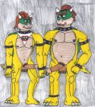 bowser bowser_jr nintendo super_mario_bros.