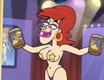big_breasts cartoon cookie_falcone fugget_about_it pasties stripper