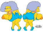 ass big_breasts big_lips breasts chubby clothes erect_nipples female hair happy hips josemalvado large_ass lips milf nipples panties plump pussy round_ass selma_bouvier slut solo the_simpsons tongue white_background whore wide_hips yellow_skin