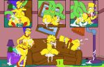 anal anus ass bart_simpson big_ass big_breasts big_lips breasts clothes comic cum dat_ass erect_nipples female femboi femboy gay happy hips josemalvado lips lisa_simpson male marge_simpson milf nipples nude penis pussy sex slut tentacle testicles the_simpsons torn_clothes whore wide_hips yellow_skin