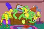 anal anus ass bart_simpson big_ass big_breasts big_lips breasts clothes comic dat_ass erect_nipples female femboi femboy gay happy hips josemalvado lips lisa_simpson male marge_simpson milf nipples nude penis pussy sex slut tentacle testicles the_simpsons torn_clothes whore wide_hips yellow_skin