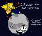2015 bdsm blush frakkafukkenfractalz inanimate living_machine nasa new_horizons no_humans penetration planet pluto sex space space_probe spacecraft