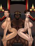babes big_black_cock brunette ezri_dax jadzia_daz klingon spots star_trek threesome trill worf