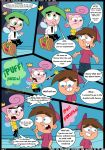 comic cosmo croc_(artist) english_language tagme the_fairly_oddparents timmy_turner wanda