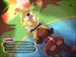 1girl animal_crossing anthro ass big_ass big_thighs black_nose blush bourbon_(artist) breasts brother brother_and_sister brown_fur canine chubby claws closed_eyes clothing digby dog duo english_text floatation_device fur furry incest isabelle male male/female mammal nintendo oral outside penis pond public pussy pussylicking saliva sex shih_tzu sibling sister skinny_dipping sunset swimming text tongue tongue_out tree undressed vaginal video_games wet yellow_fur