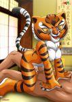 anthro furry kung_fu_panda master_tigress palcomix sex tagme tiger