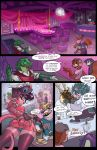 1girl anthro antlers ass bartender bear bleats bread breasts butt_pose canine cervine cheek_tuft chef clothed clothing comic crocodile crocodilian deer dialogue diner ear_piercing elbow_tufts english_text food fur furry green_fur group hair heart highres horn jackson jinx_(stripped_down) lagomorph legwear male mammal meme midriff nightclub panties parody piercing purple_hair rabbit rat red_panda reptile ricky rodent scalie sideboob stockings stripped_down text tuft underwear upskirt wolf yellow_eyes