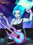 big_breasts breasts danny_phantom ember_mclain guitar rainbowscreen