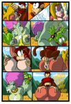1girl 2016 69_position anthro anus areola ass big_breasts breast_suck breasts candy_kong comic crocodile crocodilian cum cum_in_mouth cum_inside diddy_kong donkey_kong_(series) erect_nipples erection fellatio furry kalypso lactating lordstevie lordstevie_(artist) male male/female mammal milk monkey nintendo nipples nude oral orgasm paizuri penetration penis primate pussy pussylicking reptile scalie sex sucking testicles vaginal vaginal_penetration video_games