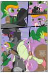 2016 absurd_res anal anal_penetration anthro ass clothed clothing collar comic cosplay cosplay crossdressing cum cum_in_ass cum_in_mouth cum_inside cum_on_face dickgirl dickgirl/male dragon equine friendship_is_magic furry high_res intersex intersex/male king_sombra_(mlp) leash link male mammal my_little_pony nintendo penetration penis prostitution saurian_(artist) scalie spike_(mlp) spreading the_legend_of_zelda video_games