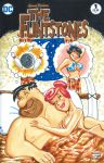 betty_rubble breasts comic comic_cover daydream dream fred_flintstone nude the_flintstones thought_bubble wilma_flintstone