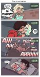 after_sex bed bedroom before_sex blush clothed comic embarrassed freckles jackie_lynn_thomas kiss kissing marco_diaz nude raicosama sex star_vs_the_forces_of_evil vaginal vaginal_penetration