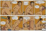 anus ass avatar:_the_last_airbender big_ass big_breasts big_penis big_testicles breasts brother brother_and_sister clitoris comic cowgirl_position incest incognitymous katara nipples nude penetration penis pussy sister sokka speech_bubble testicles text vaginal vaginal_penetration
