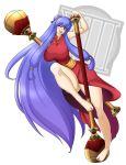 brown_eyes female maces purple_hair ranma_1/2 shampoo_(character) shampoo_(ranma_1/2) solo waifuholic weapon
