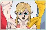 blush breath_of_the_wild cum elf facial kass link male penis reishuseyu sidon the_legend_of_zelda