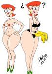 big_ass bra breasts dexter dexter's_laboratory dexter's_mom nude spartan927