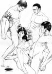 anal anal_penetration bill_krauzer cum cum_in_mouth cum_on_breasts dc_comics double_penetration fellatio group_sex handjob nude sex vaginal vaginal_penetration wonder_woman wonder_woman_(series)