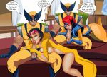 fellatio jean_grey jubilation_lee jubilee justicehentai.com logan marvel nude oral tinkerbomb wolverine x-men