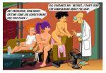 amy_wong ass breasts futurama nipples nude philip_j._fry pussy text turanga_leela