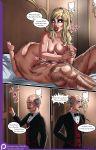 69_position alfred_pennyworth batman batman_(series) bruce_wayne comic harleen_quinzel harley_quinn jzerosk_(artist) nude the_bat_in_love