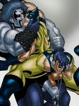 2boys 2males cum dc erection fuck hairy icemanblue lobo male male/male marvel marvel_comics muscle orgasm penis sex testicle testicles wolverine x-men yaoi
