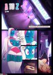 a_to_z android comic doxy_(artist) futanari goo_girl transformation