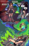 comic harry_james_potter harry_potter hermione_granger love_potion_69 panties thebootydoc_(artist)