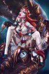 dragon elf elven_elder red_hair smutstone