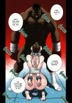 balrog bbc big_breasts breasts chains chun-li comic dripping eyeshadow full_color interracial kneel licking licking_penis nipples nude open_mouth phat_ass rape sex_slave standing street_fighter sucking sweating thrusting tied_up
