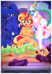 equestria_untamed friendship_is_magic my_little_pony palcomix princess_celestia princess_luna sunset_shimmer