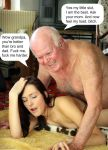 caption from_behind grandfather_and_granddaughter impregnation incest