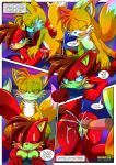 2017 2018 comic fiona_fox miles_prower mobius_unleashed palcomix red_fox_district_(comic)