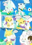 adult chibimon circumcision cut demiveemon digimon foreskin gaes gatomon playing renamon tailmon uncut