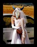 1girl bridge cameltoe cegua cervine female_anthro legs legs_up mammal panties por_furryart_(artist) skirt skirt_lift upskirt