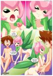2017 2018 a_lustfilled_lilymon_(comic) comic digihentai digimon palcomix