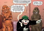 1girl 4boys comic major_wonder sex superheroine