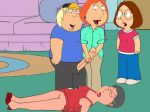 barbara_pewterschmidt chris_griffin couch family_guy funny gif guido_l incest lois_griffin meg_griffin mother_&_son