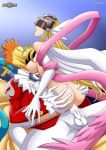 angewomon ass ass_grab bare_ass bare_back breast breasts cum cum_in_pussy cum_inside digihentai digimon ejaculation enjoy_sex gold_hair helmet joker knife legs mouth_open nipple nipples penis penis_in_pussy piemon pink_ribbon red_clothes ribbon sex skeleton smile sofa stockings white_skin white_stockings wings