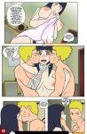 1boy 1girl breasts comic cum drah_navlag hinata_hyuuga naruto naruto_uzumaki nipples penis pussy sex vercomicsporno