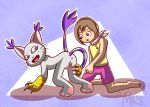 1girl adult circumcision clitoris digimon gatomon kari laser tailmon