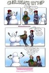 chelsea_charms huge_breasts hyper_breasts jon_freeman lucky-curse snowman