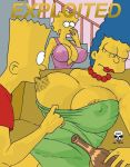 alcohol bart_simpson big_breasts big_breasts drunk lisa_simpson marge_simpson milf milf mother_&_son sleeping the_fear the_simpsons